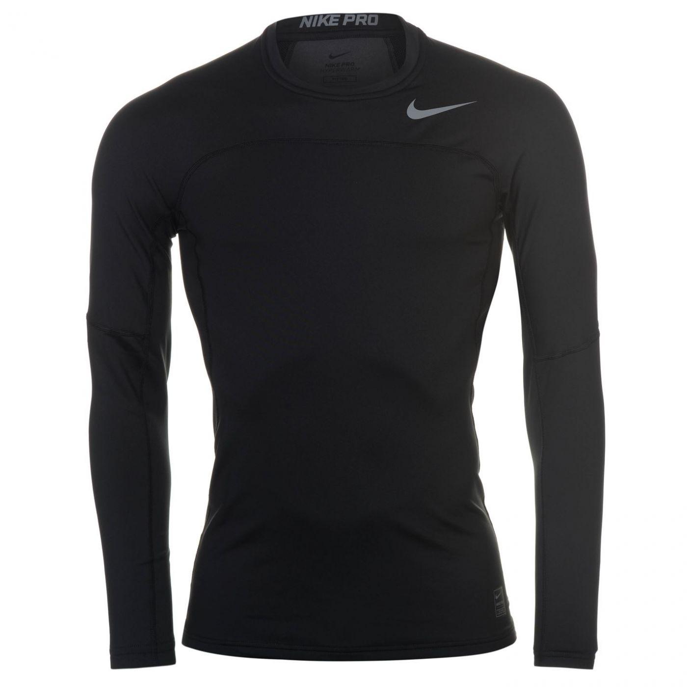 a23c041aaa1 Nike Hyperwarm Long Sleeve Base Layer Top Mens - FACTCOOL