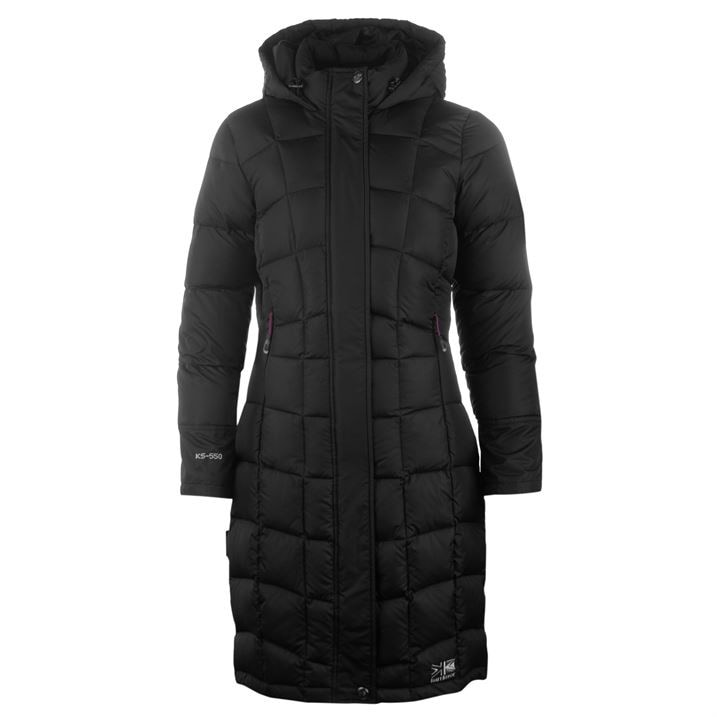 fc6b8bc5a64 Karrimor Long Down Jacket Ladies - FACTCOOL