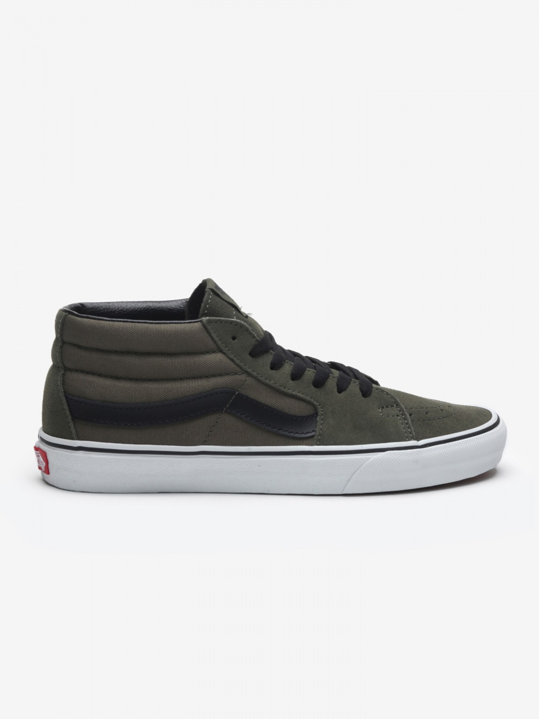 Shoes Vans Ua Sk8-Mid Grapeleaf/TRWHT