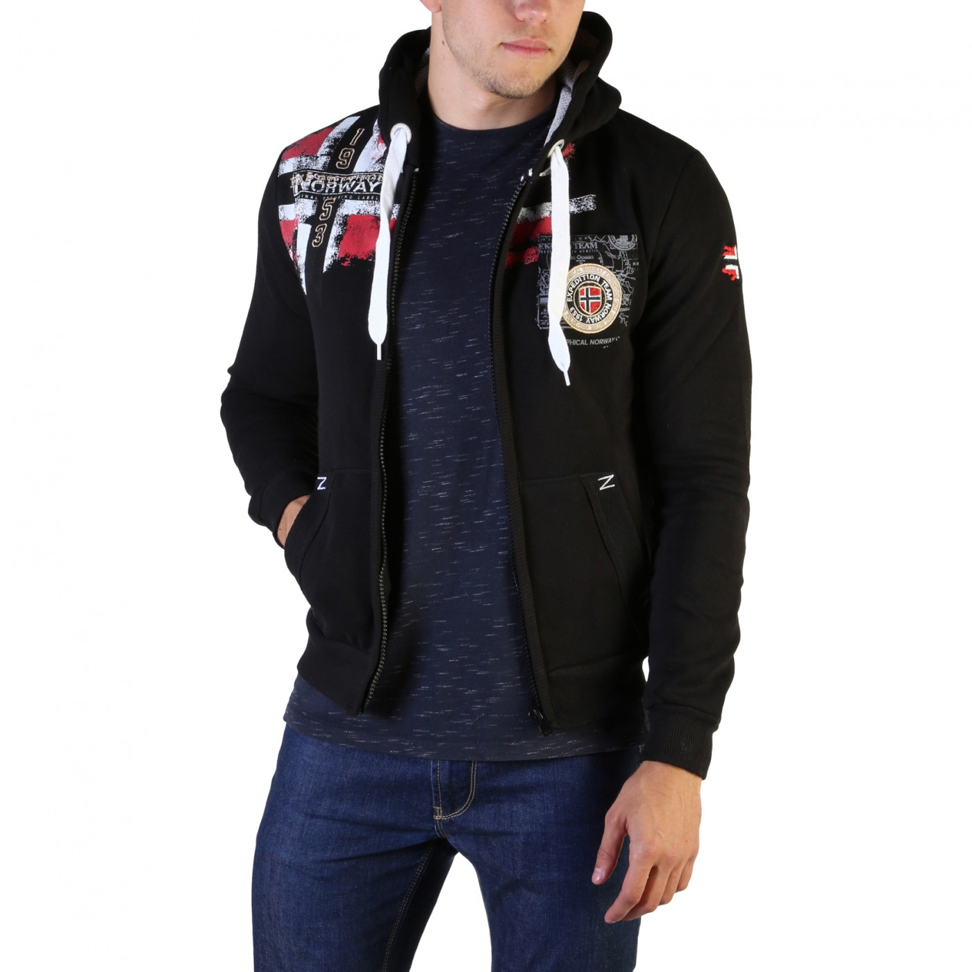 Men's hoodie Geographical Norway Fespote100