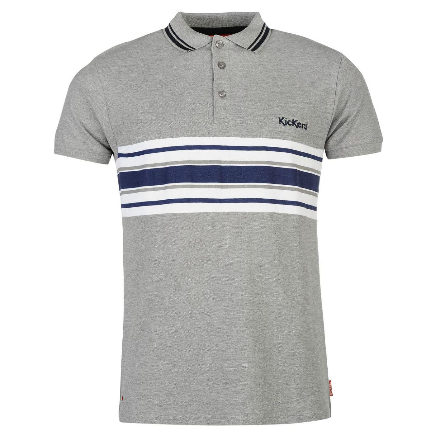 ed8b96e19180 Kickers Cut and Sew Stripe Polo Mens - FACTCOOL