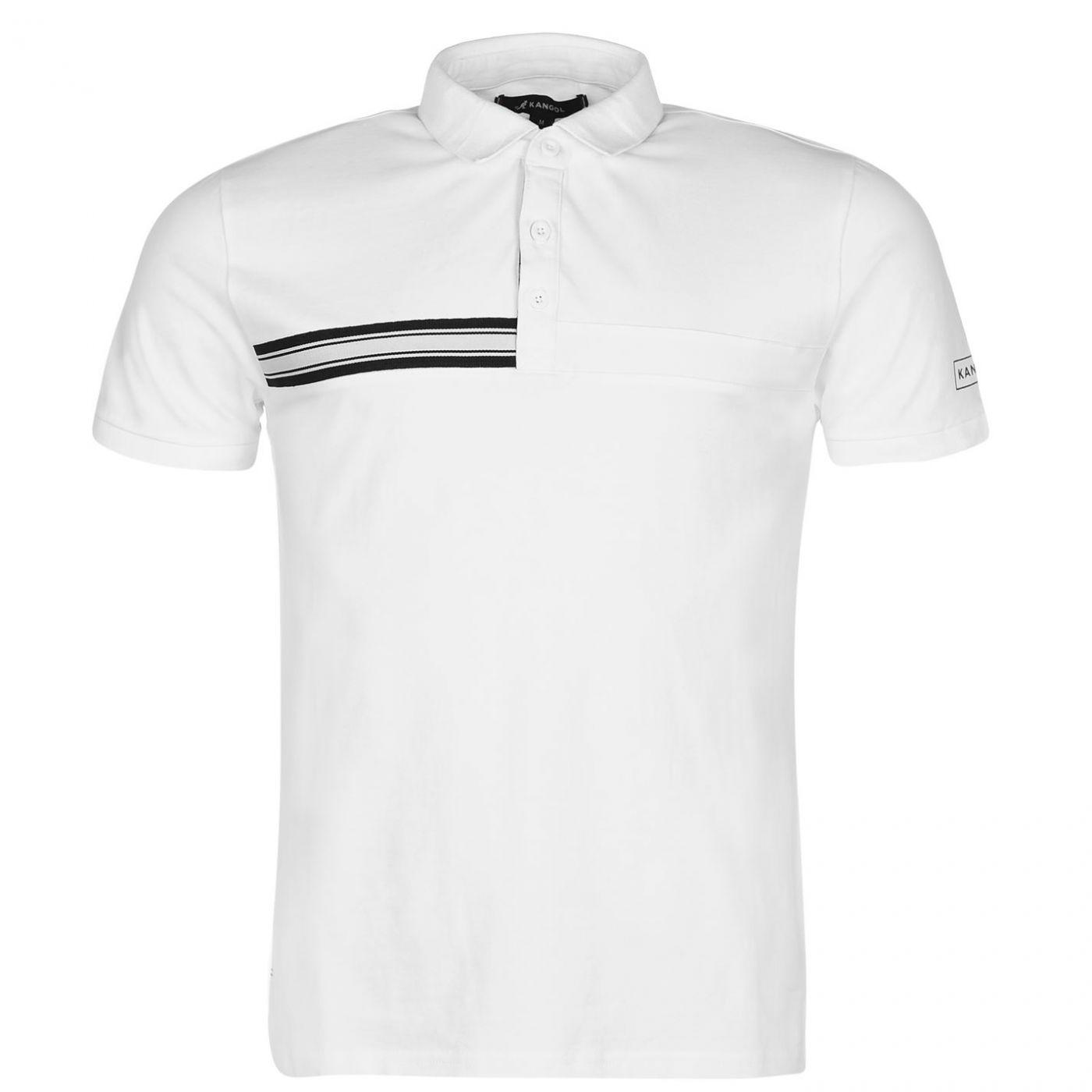 bb79ddebc3d1 Kangol Taped Polo Shirt Mens - FACTCOOL