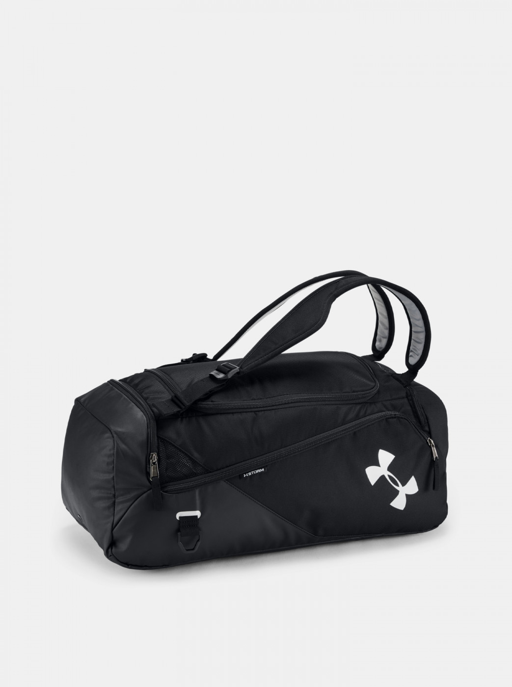Black Sports Bag Contain Duo Under Armour