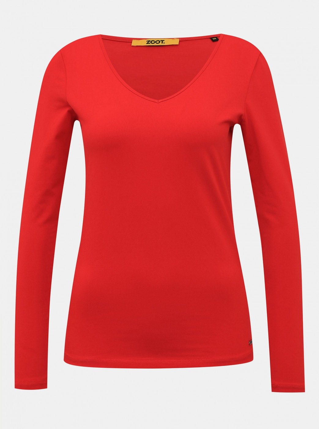 Red Women's Basic T-Shirt ZOOT Baseline Tamara