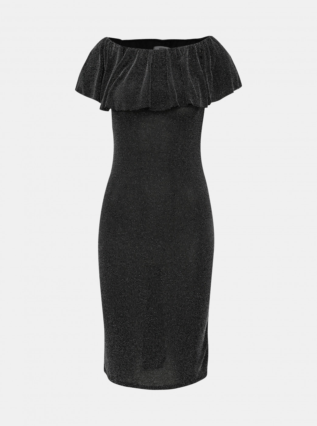 Black sleeve dress with shimmering Haily's Milena effect