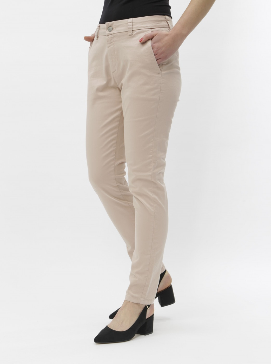 Light Pink Chino Pants Selected Femme Megan