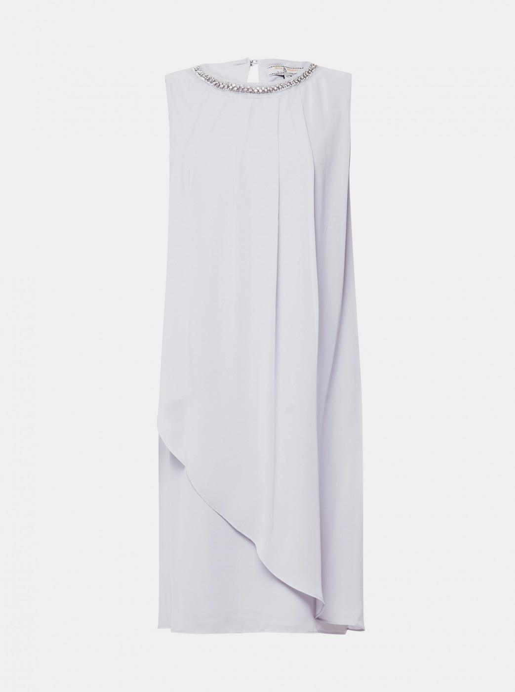 Light Grey Billie & Blossom Dress