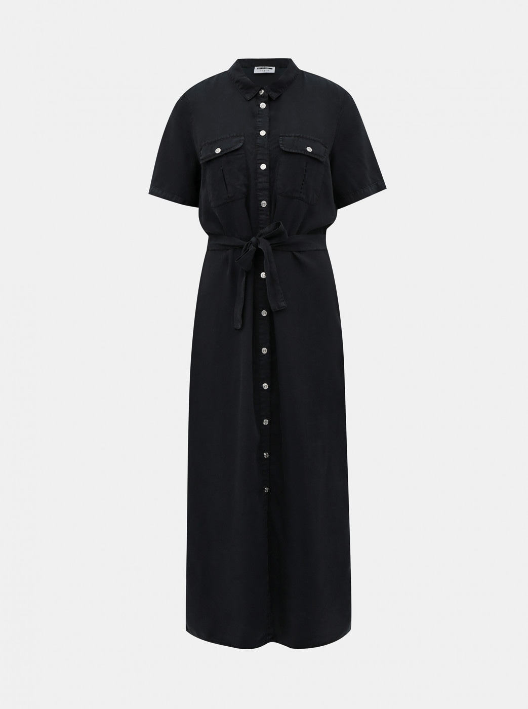 Noisy May Cersei Black Shirt Maxi Dress