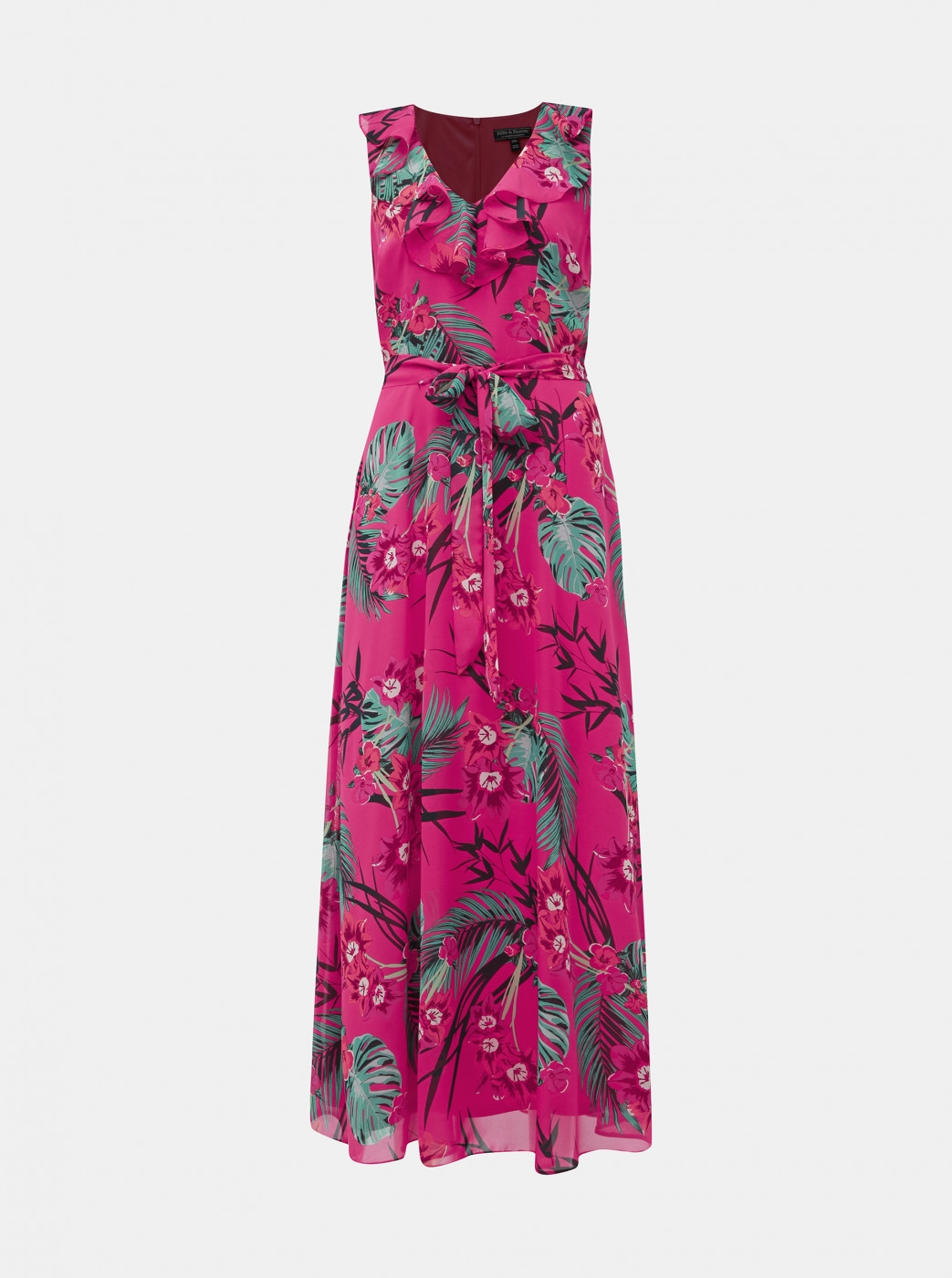 Billie & Blossom Pink Floral Maxi Dress