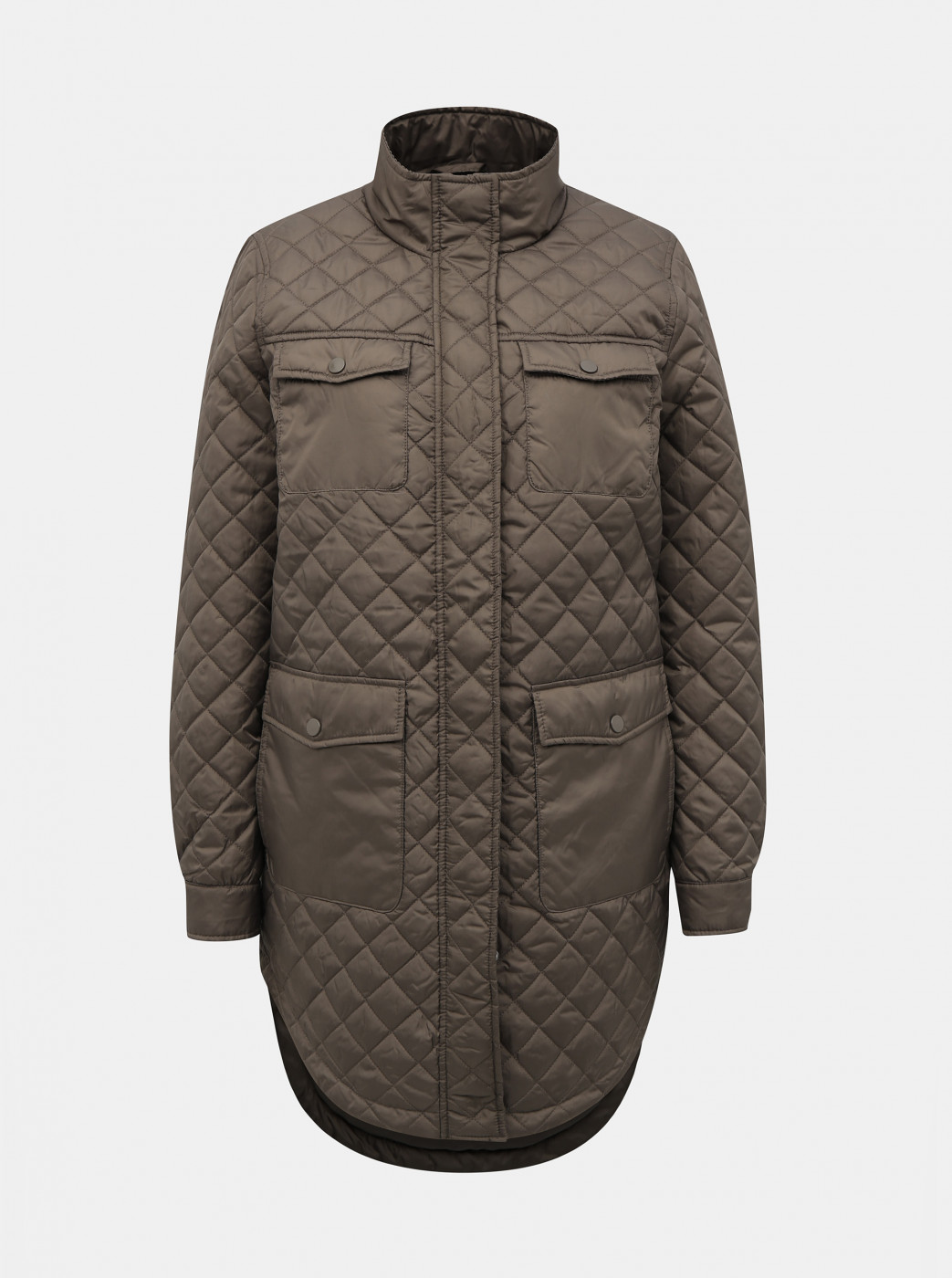 Khaki quilted jacket VERO MODA Enjoy