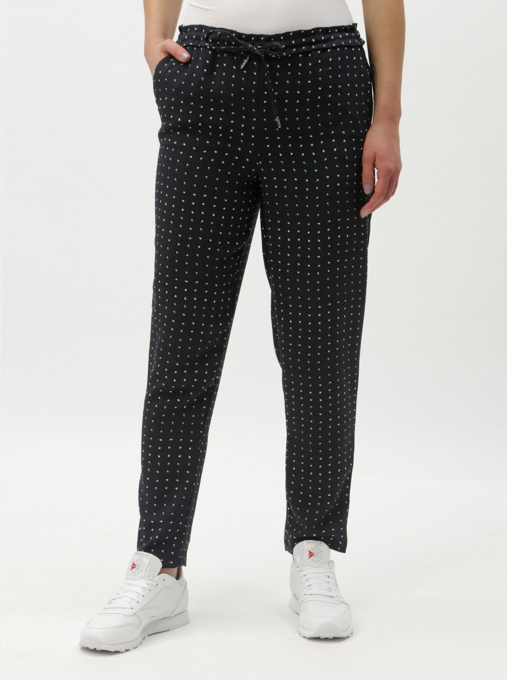 Dark Blue Patterned Pants ONLY Michelle