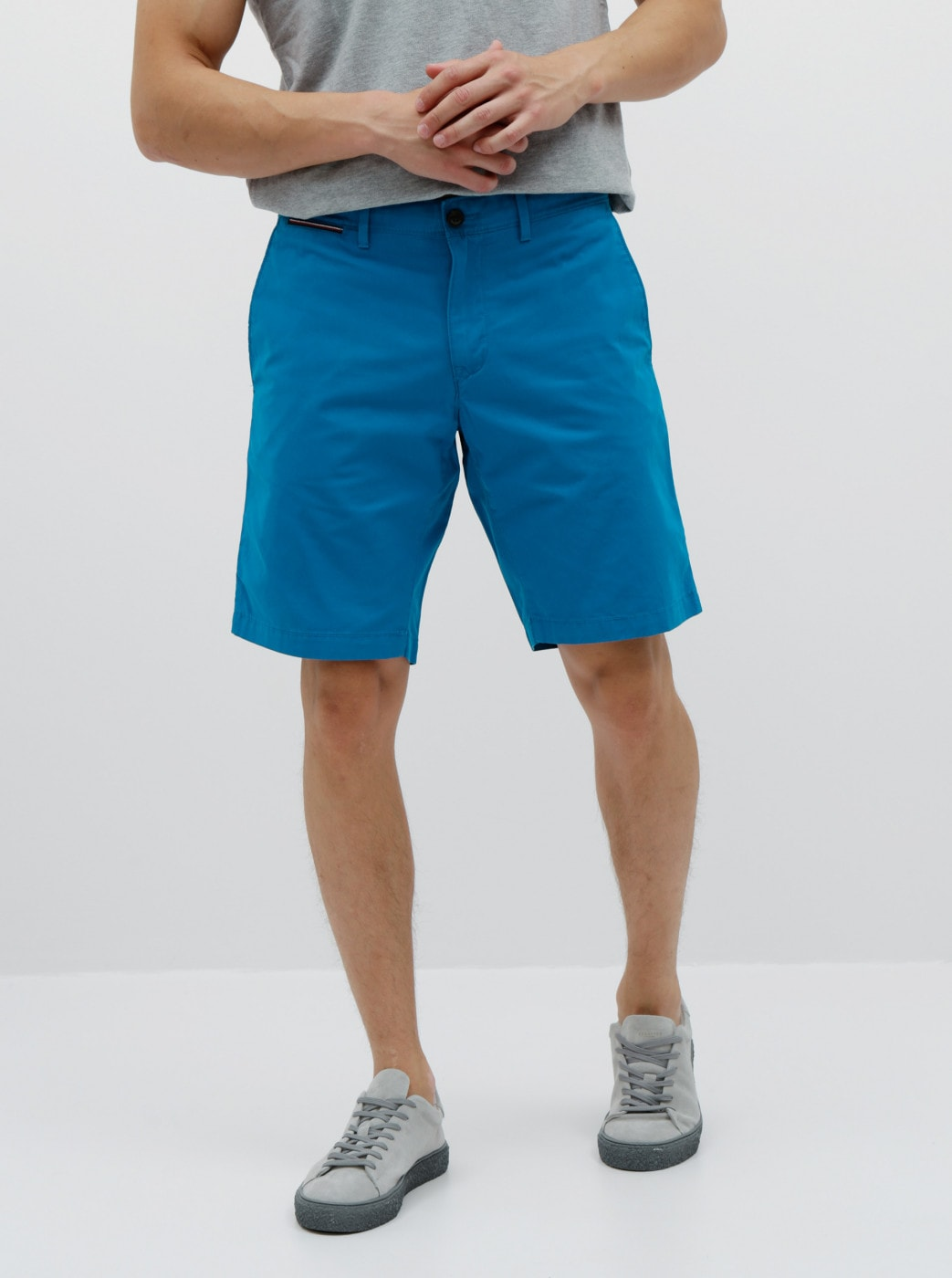 Blue Men's Chino Shorts By Tommy Hilfiger