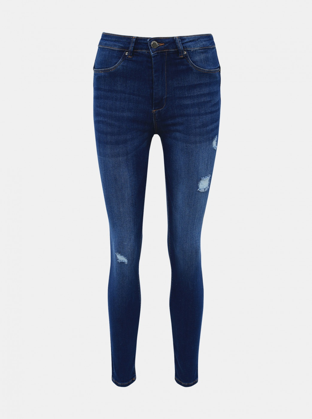 Blue Shortened Push up Skinny Fit Jeans TALLY WEiJL Pump