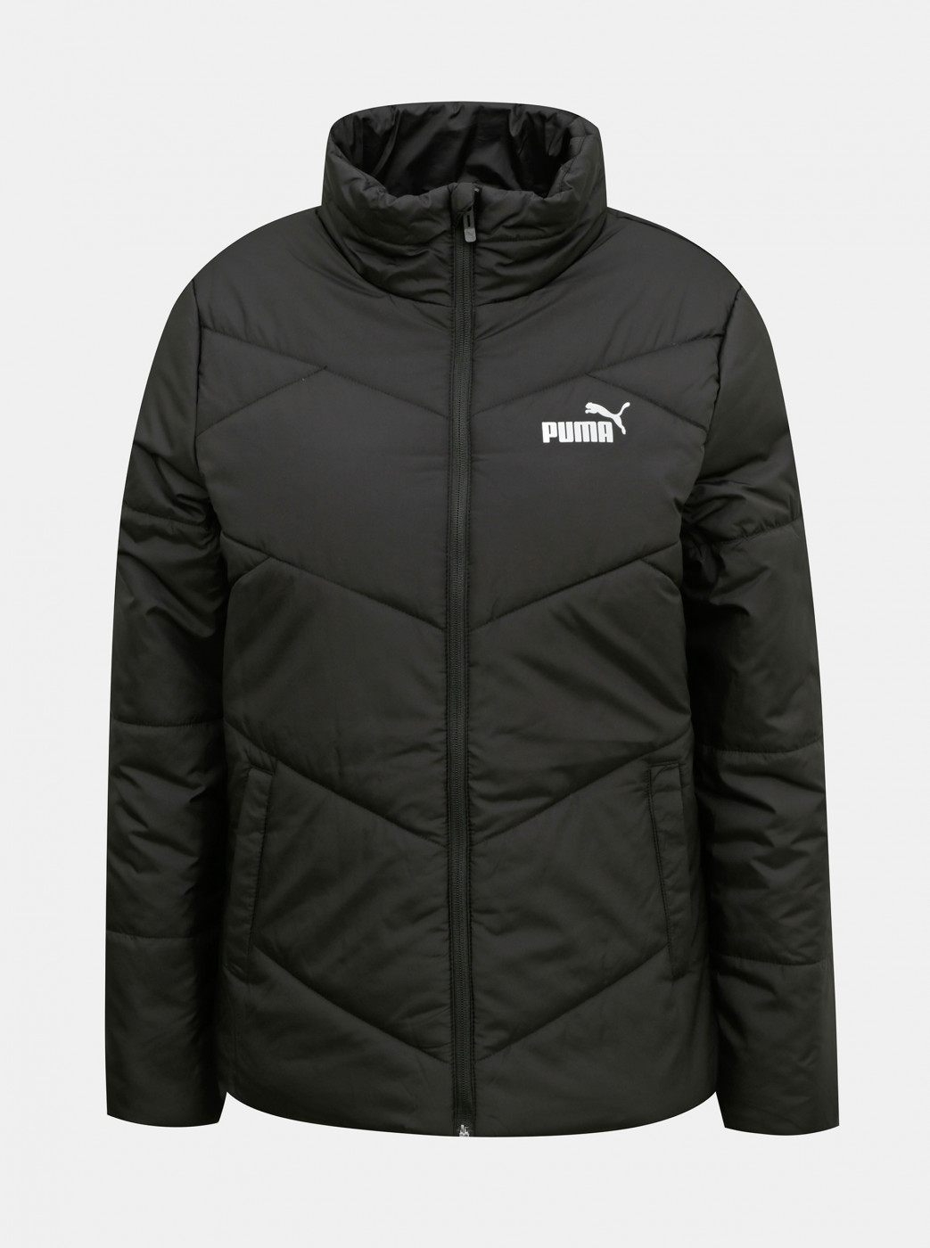 Puma Black Women's Quilted Winter Jacket