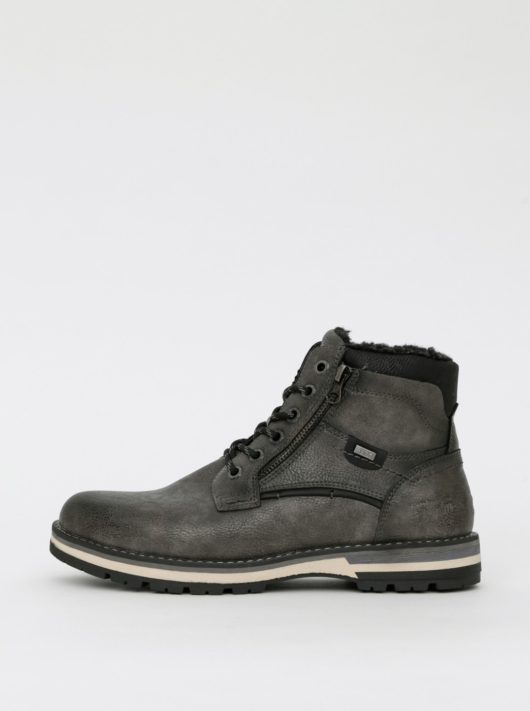 Tom Tailor Grey Men's Ankle Boots