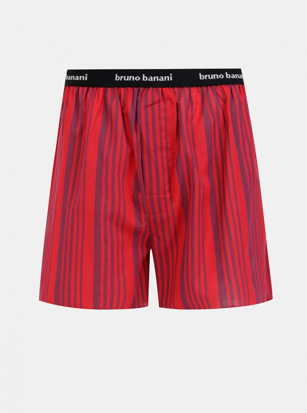 Bruno Banani's Red Striped Shorts