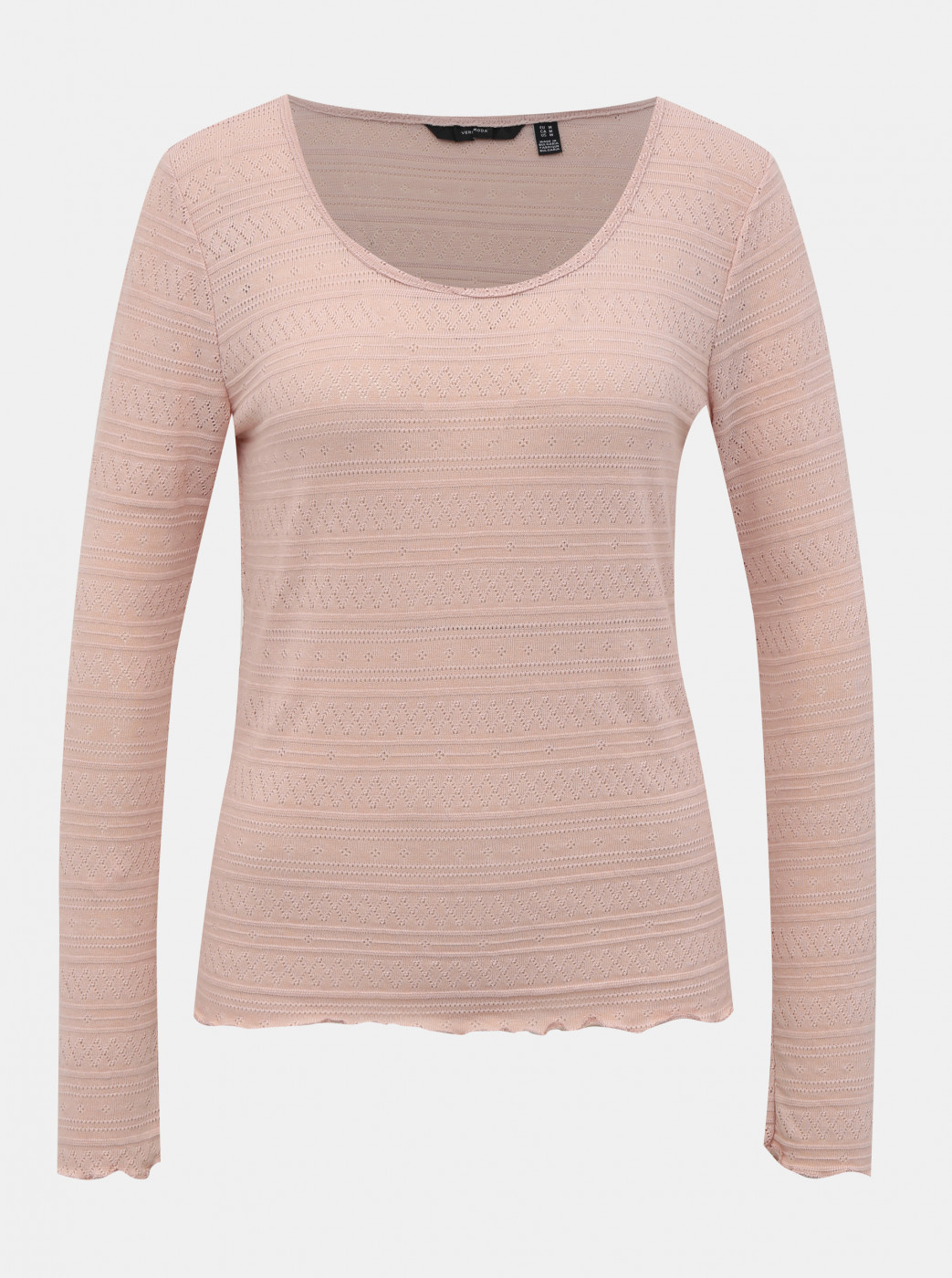 Pink Patterned T-Shirt VERO MODA Hazel