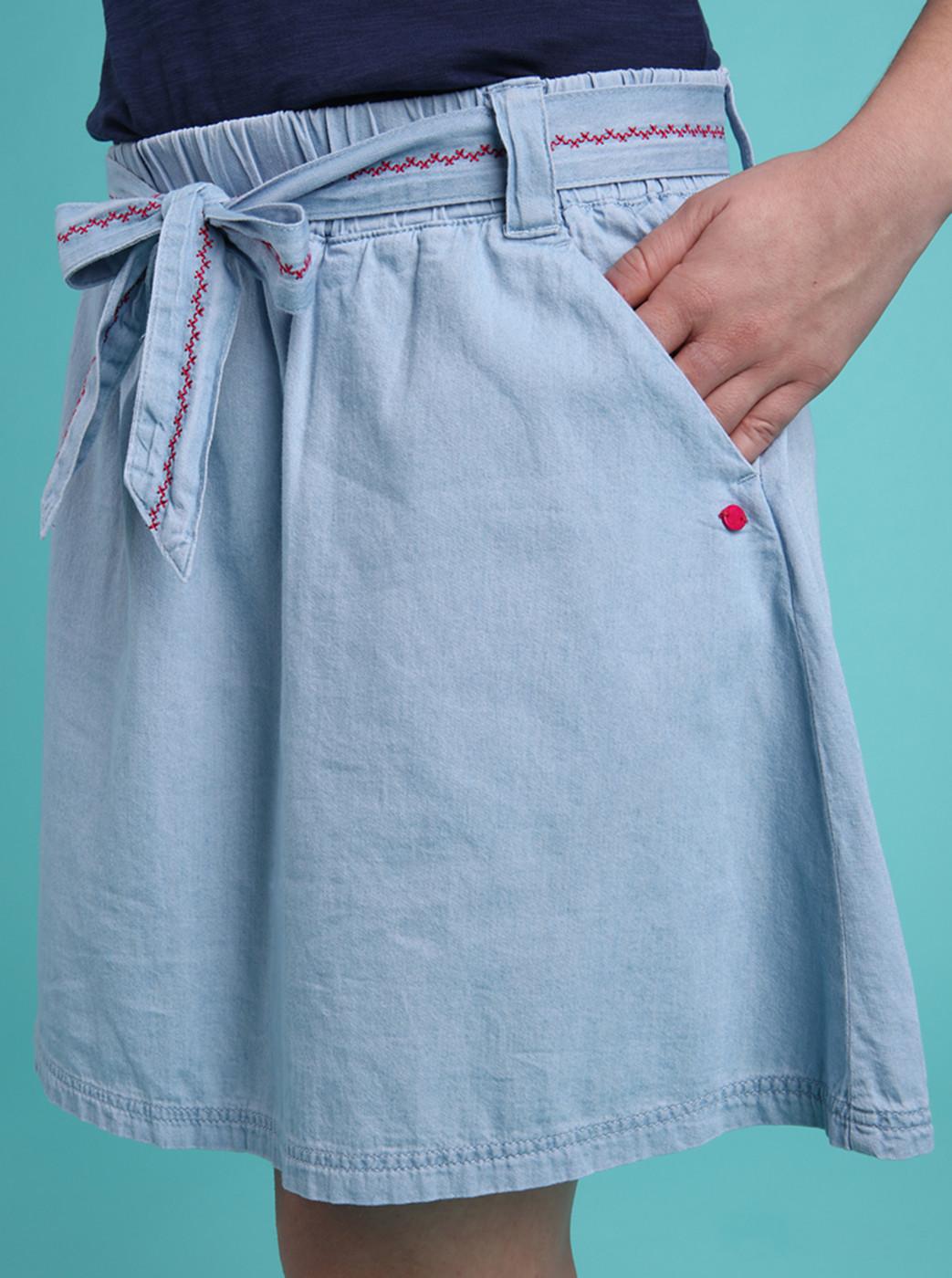 Loap Nene Light Blue Women's Skirt