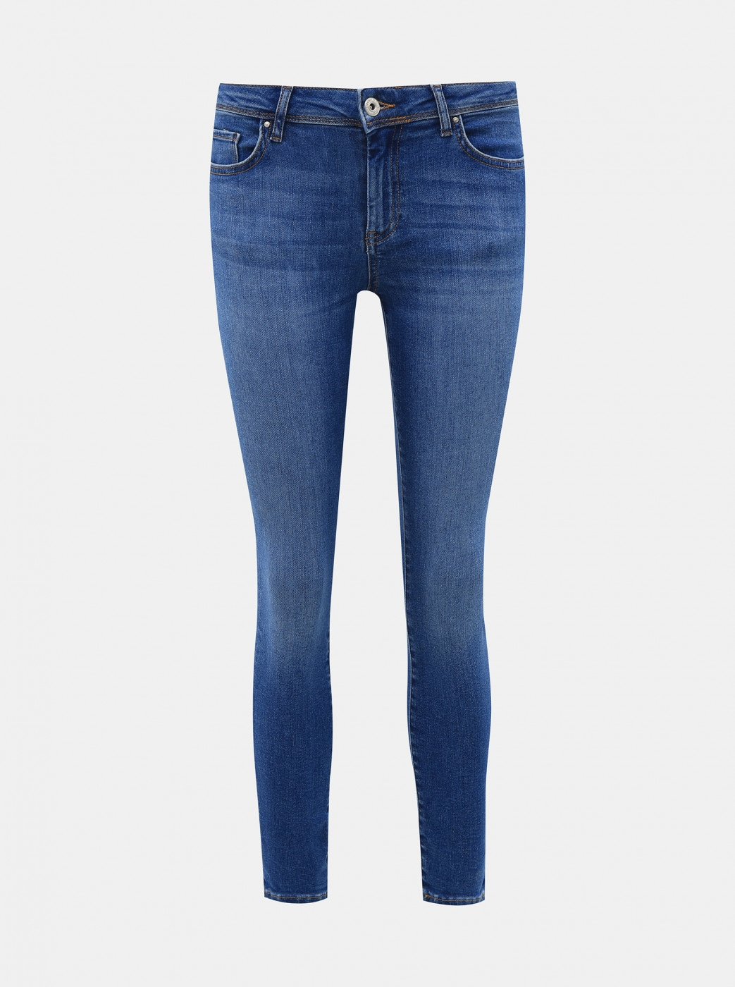 Blue Cropped Skinny Fit Jeans ONLY Carmen