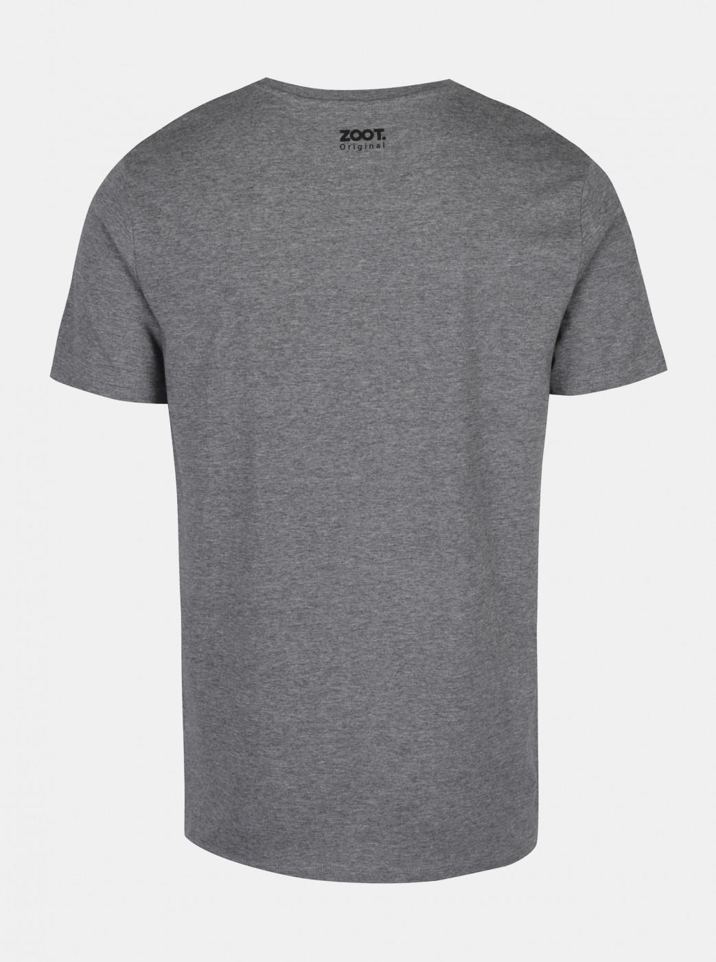 Zoot Original Grey Men's Annealed T-shirt I Love Uho