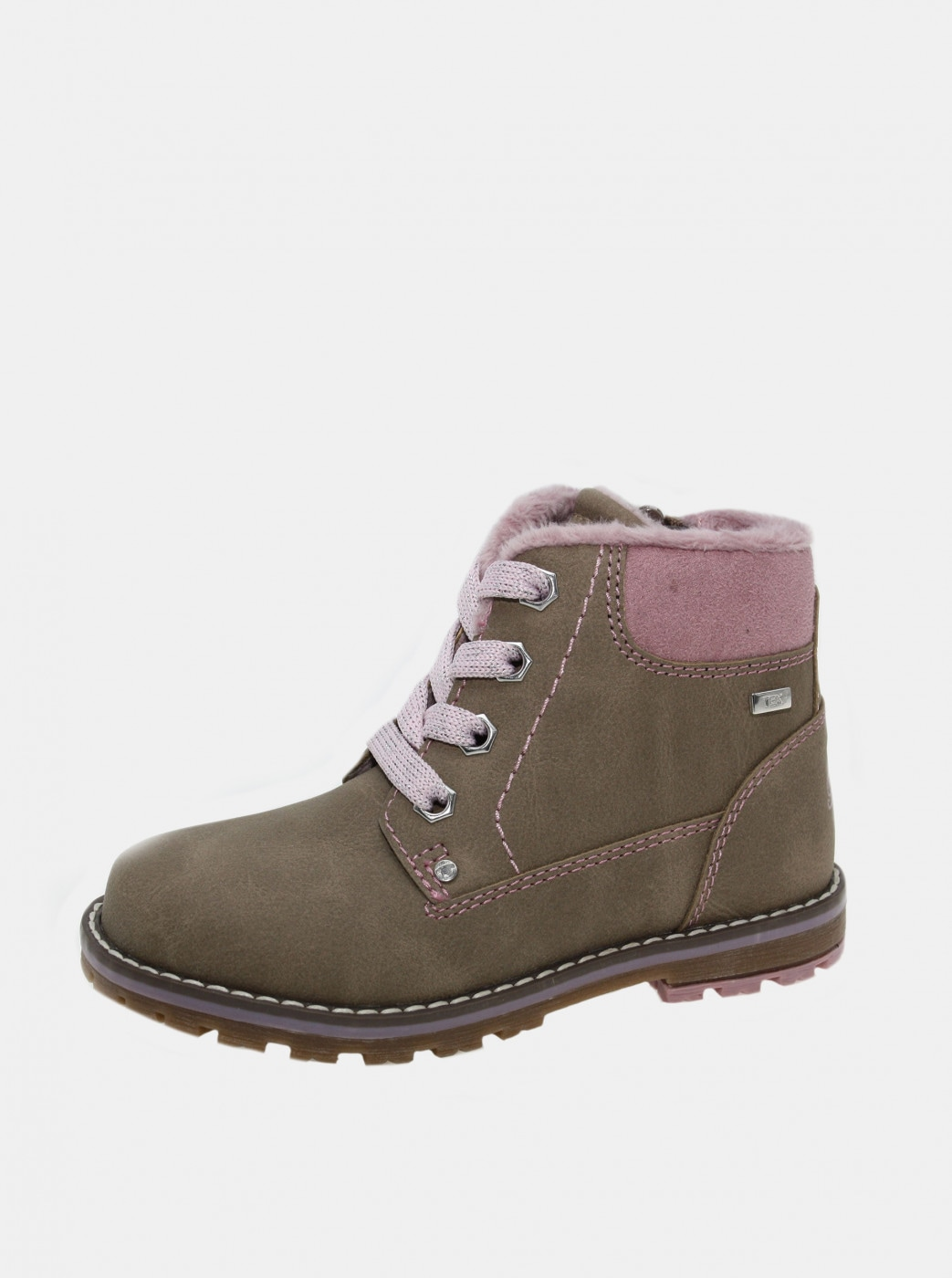 Beige girly winter boots Tom Tailor