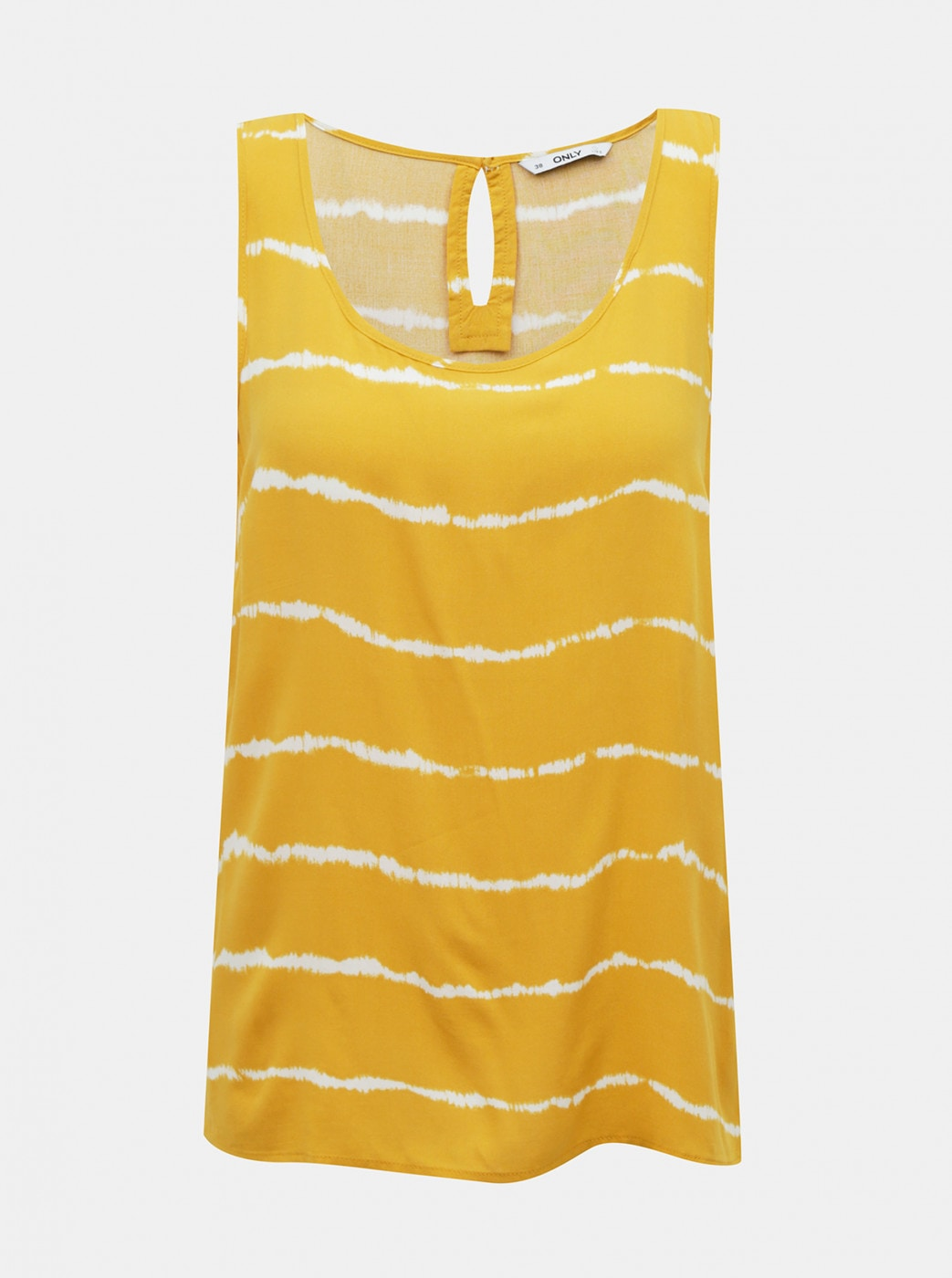 Yellow patterned tank top ONLY Nova