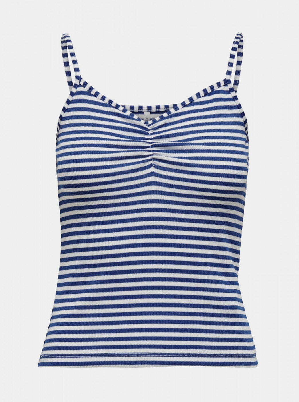ONLY Tinea White-blue Striped Tank Top