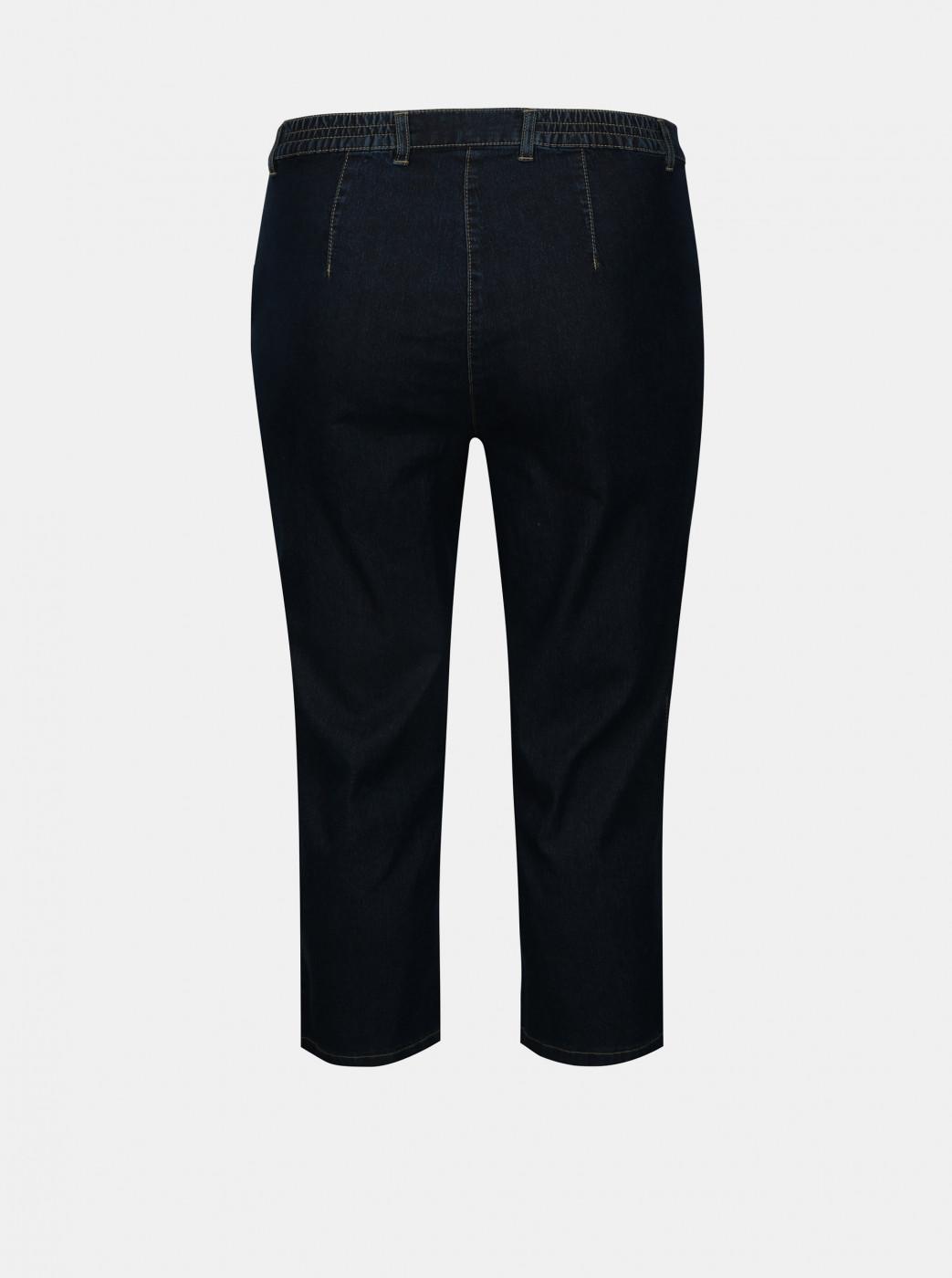 Dark Blue 3/4 Jeans Ulla Popken