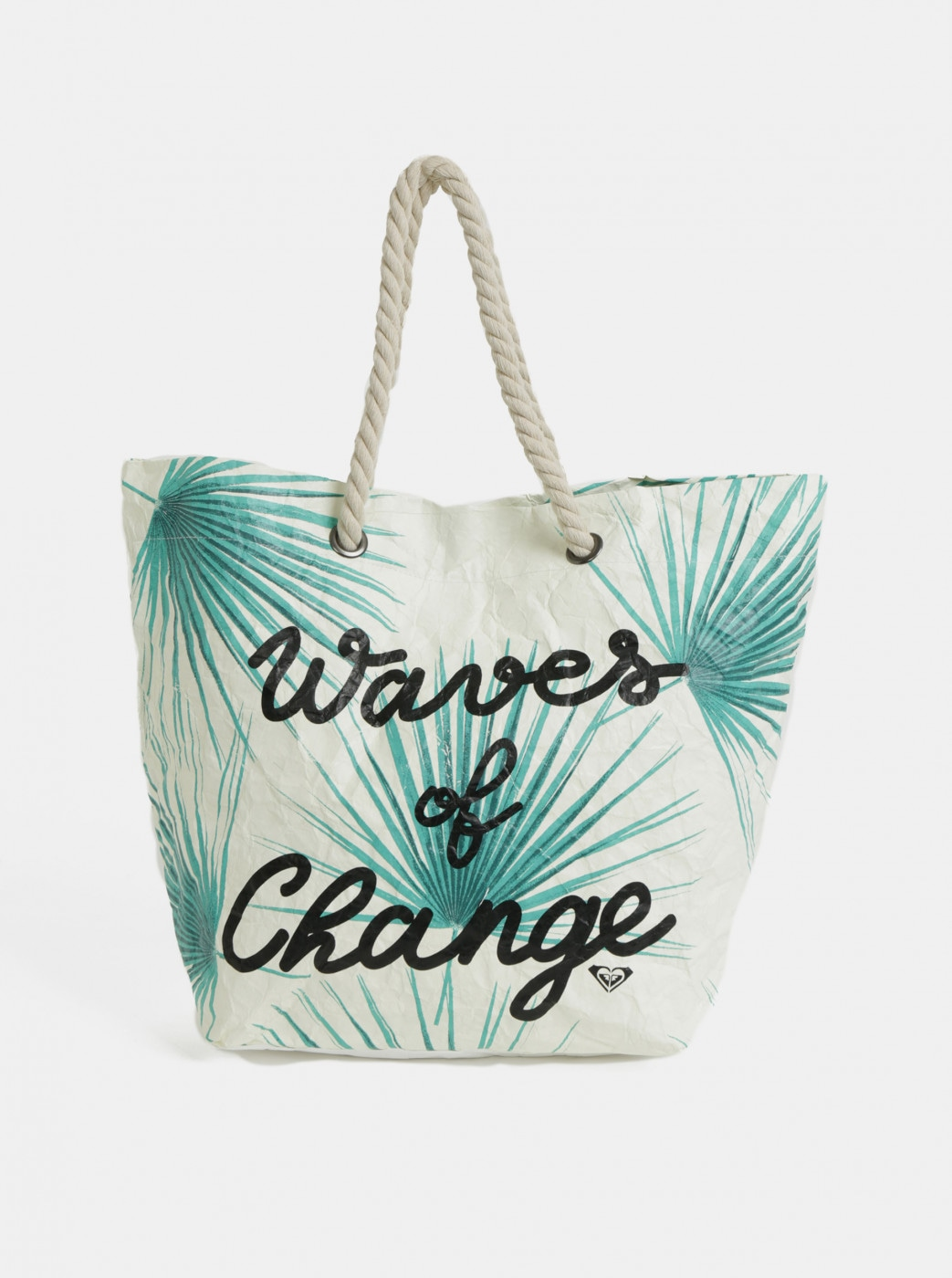 Roxy Waves of Change Tropical Tropical Beach Bag