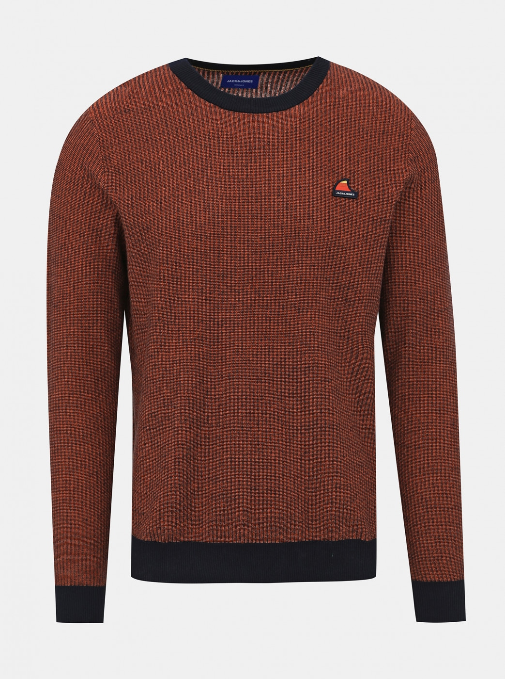 Jack & Jones Neil Brown Patterned Sweater