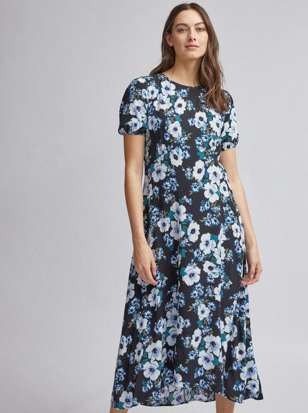 Black Floral Maxi Dress by Dorothy Perkins