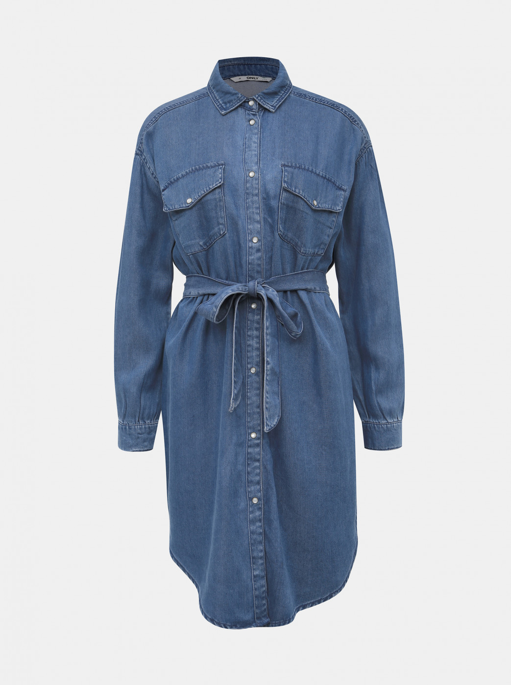 Blue Shirt Dress ONLY Belisima