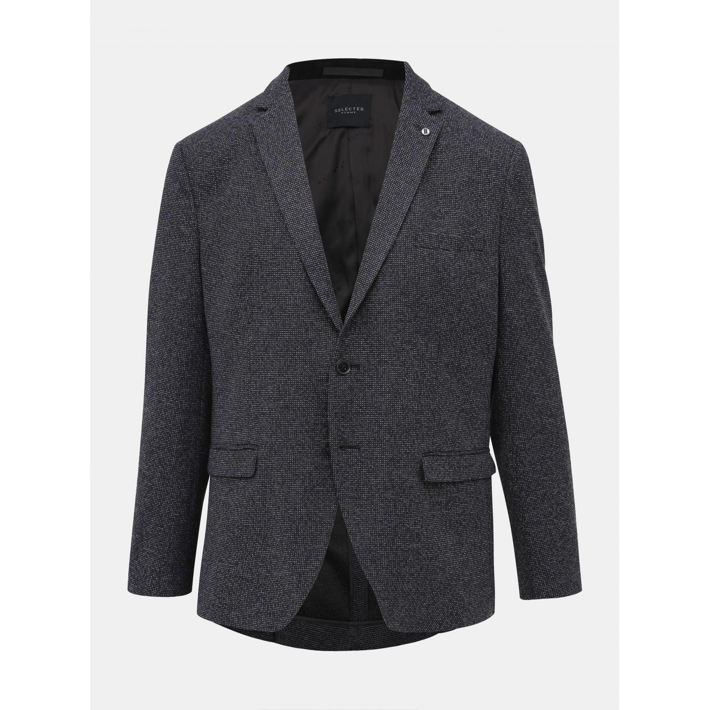 Dark Blue Jacket Selected By Homme Slim
