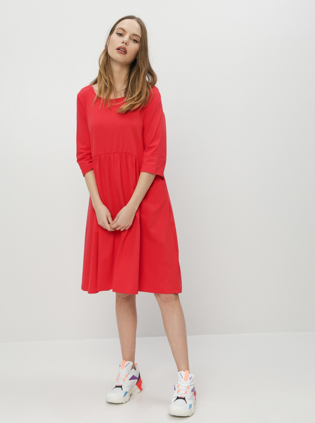 Red Basic Dress ZOOT Peggy