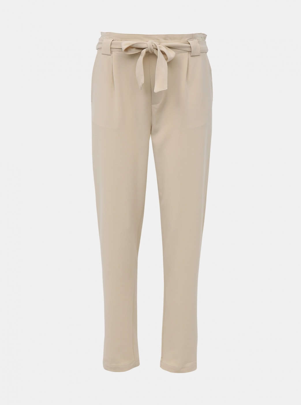 Jacqueline de Yong Dakota Cream Pants