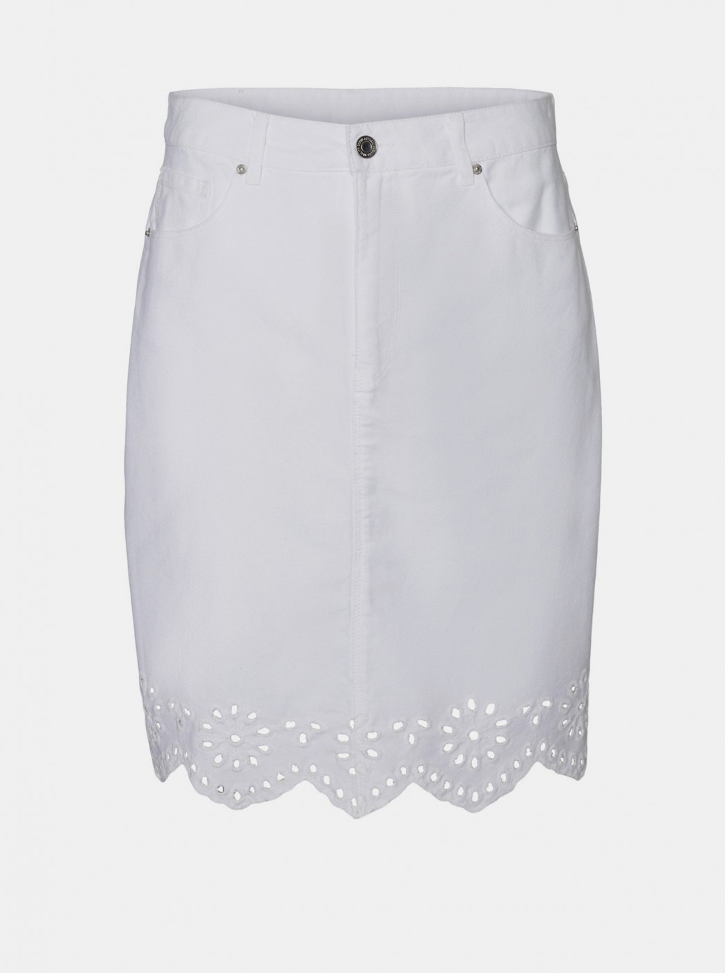 White denim skirt VERO MODA Lisa