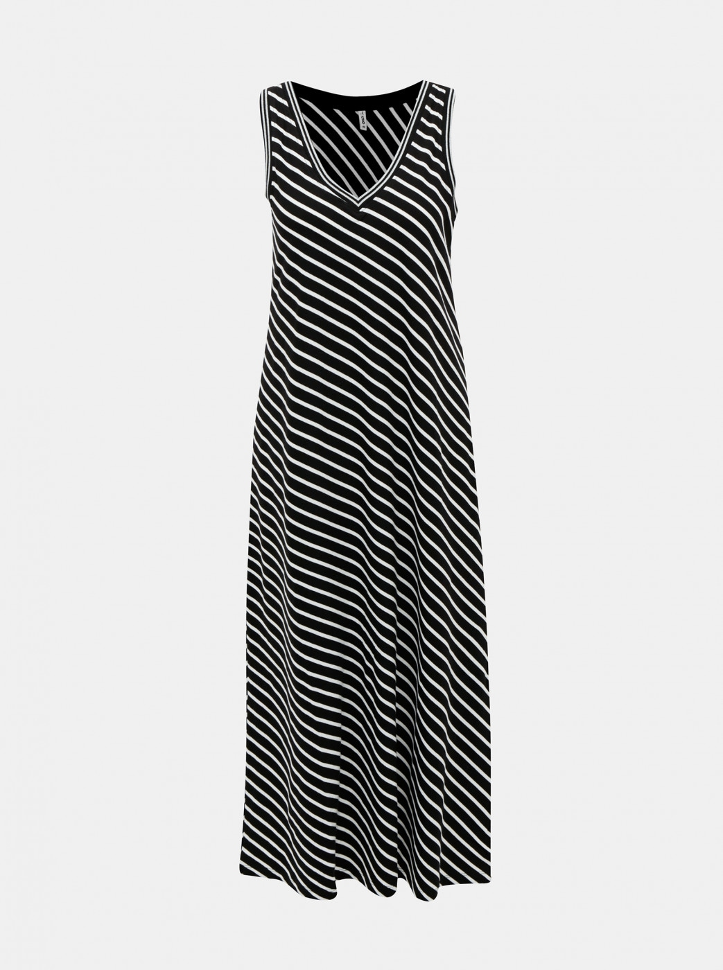 Black Striped Maxi Dress ONLY Marie