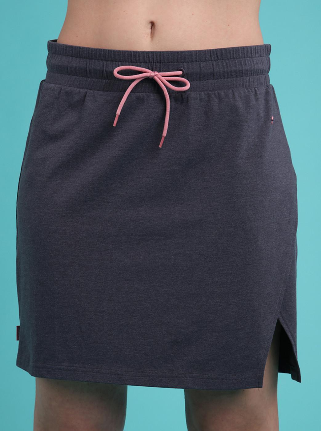 Dark grey skirt LOAP Adronis