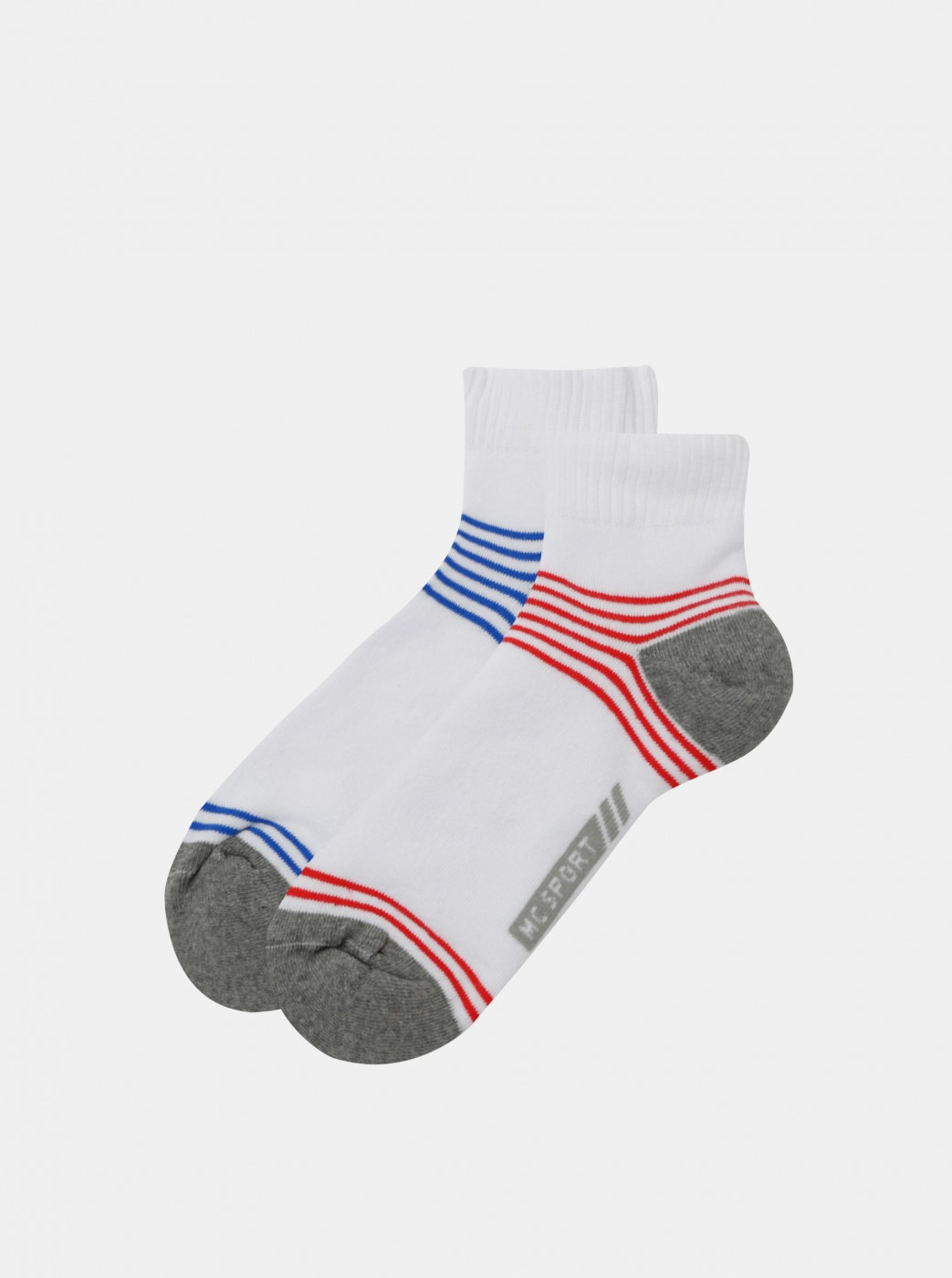 Set of two pairs of white socks Marie Claire