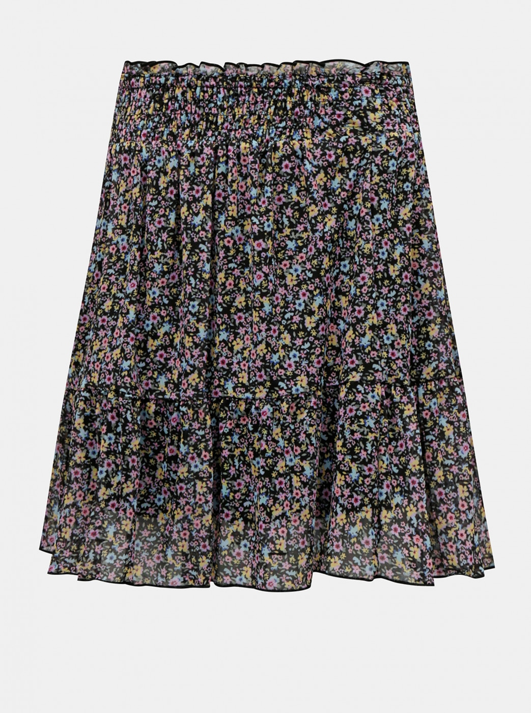 TALLY WEiJL Black Floral Skirt