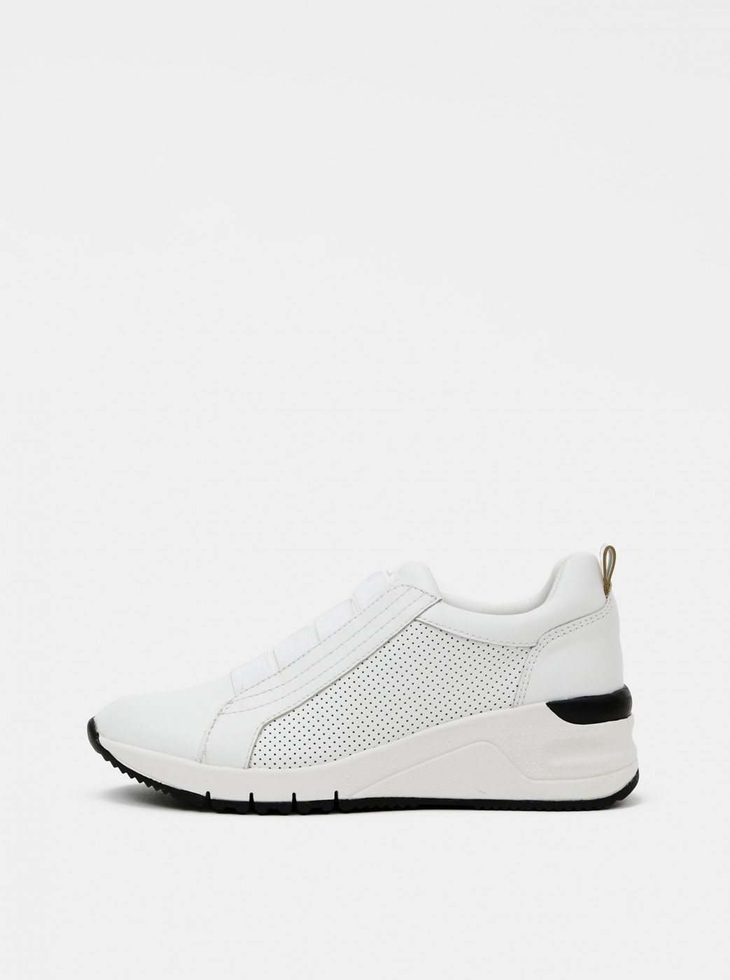 Tamaris White Leather Sneakers
