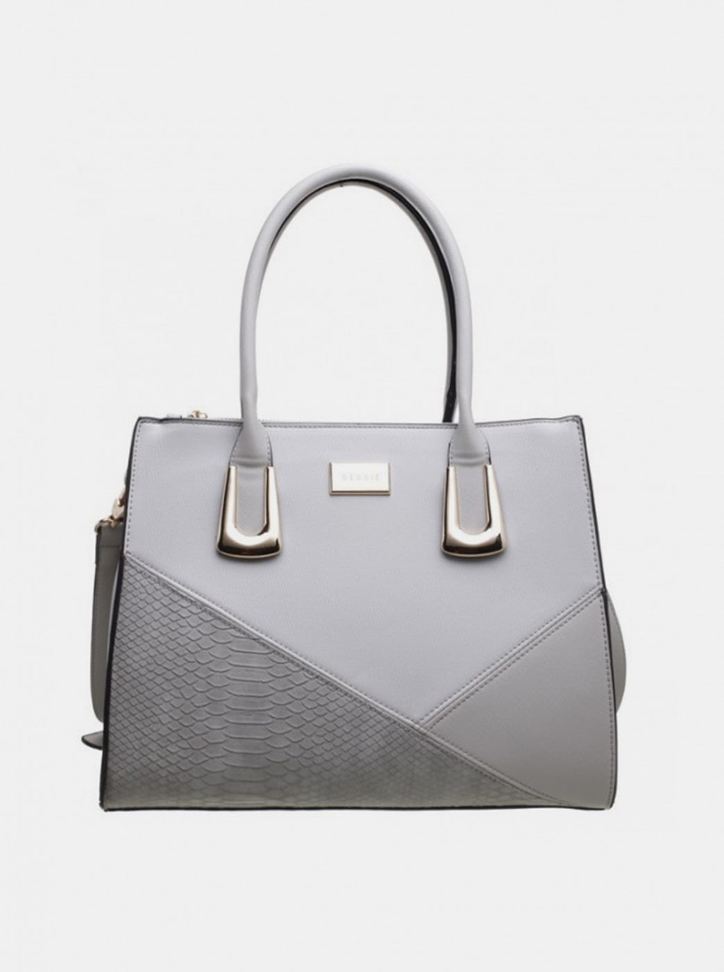 Grey Handbag Bessie London