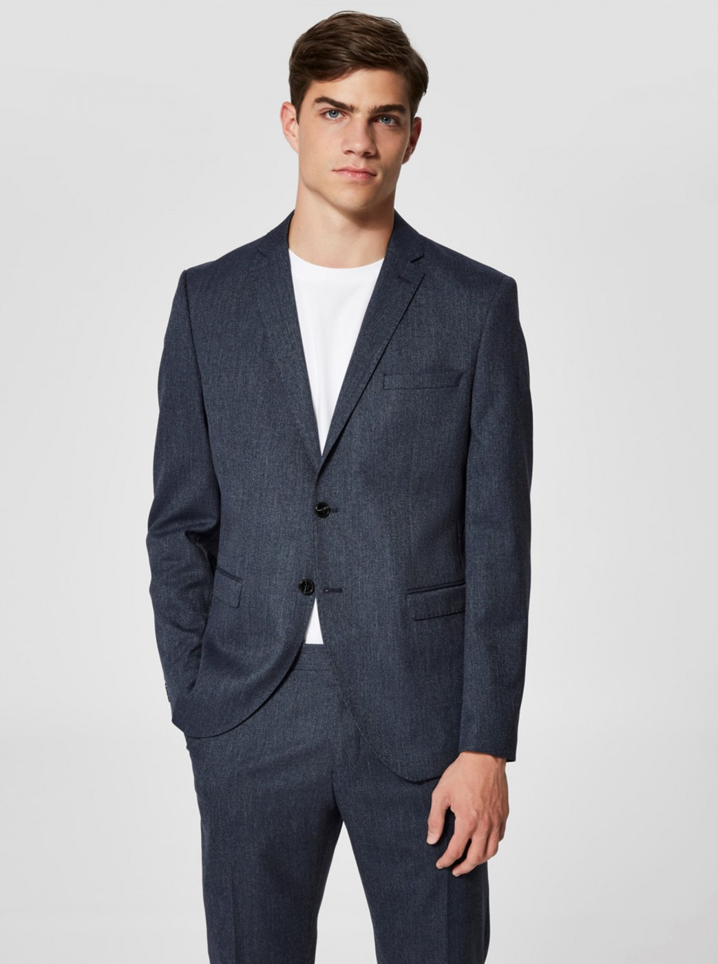 Selected Homme Navy Suit Jacket