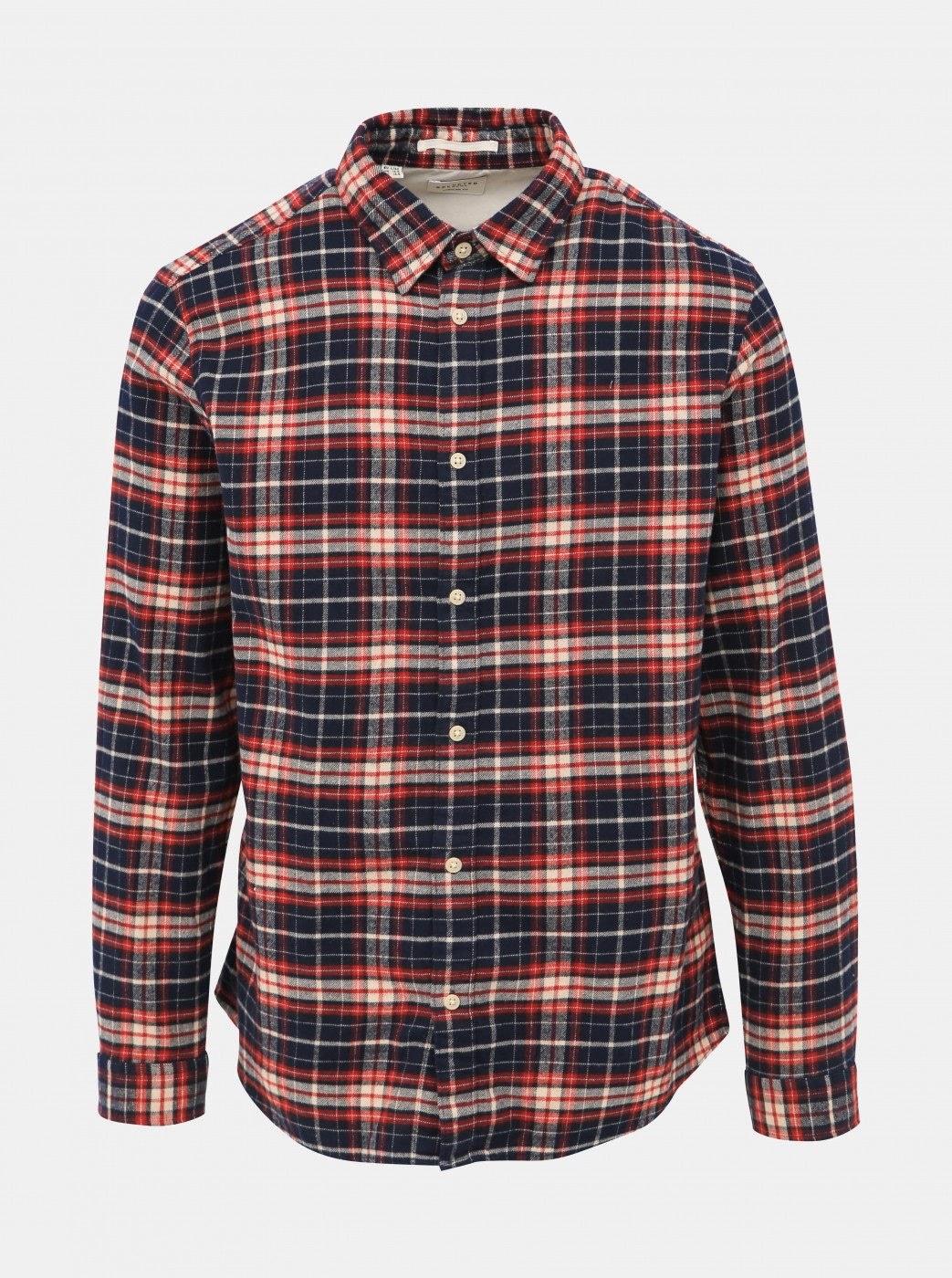 Blue-Red Checked Shirt Selected by Homme Regjaxx