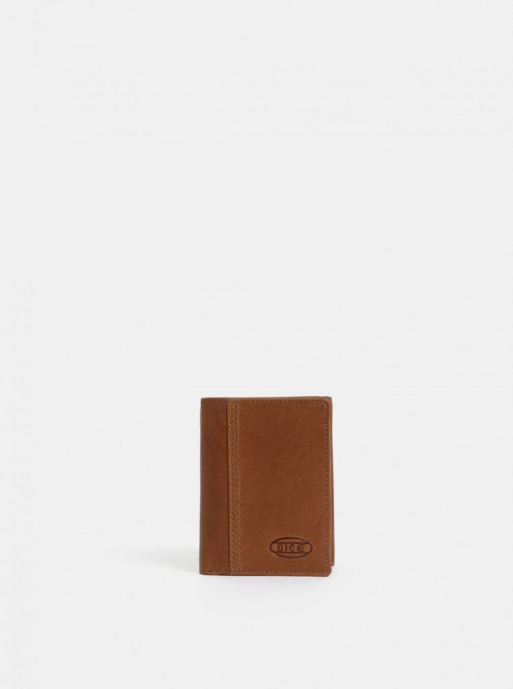 Dice Byron Brown Men's Leather Wallet