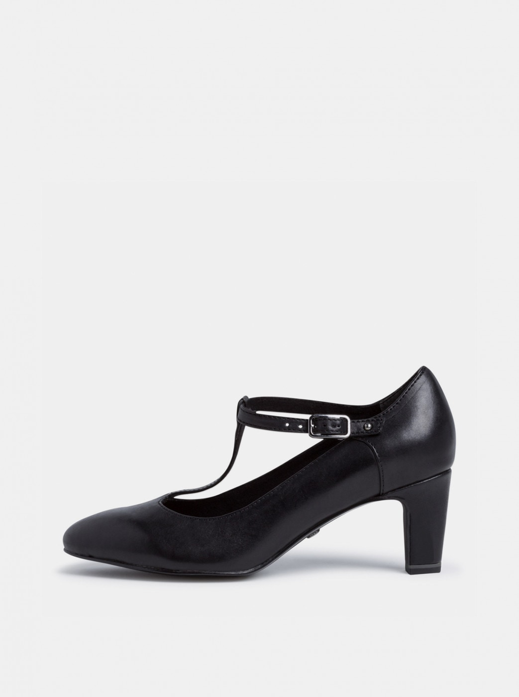 Tamaris Black Leather Pumps