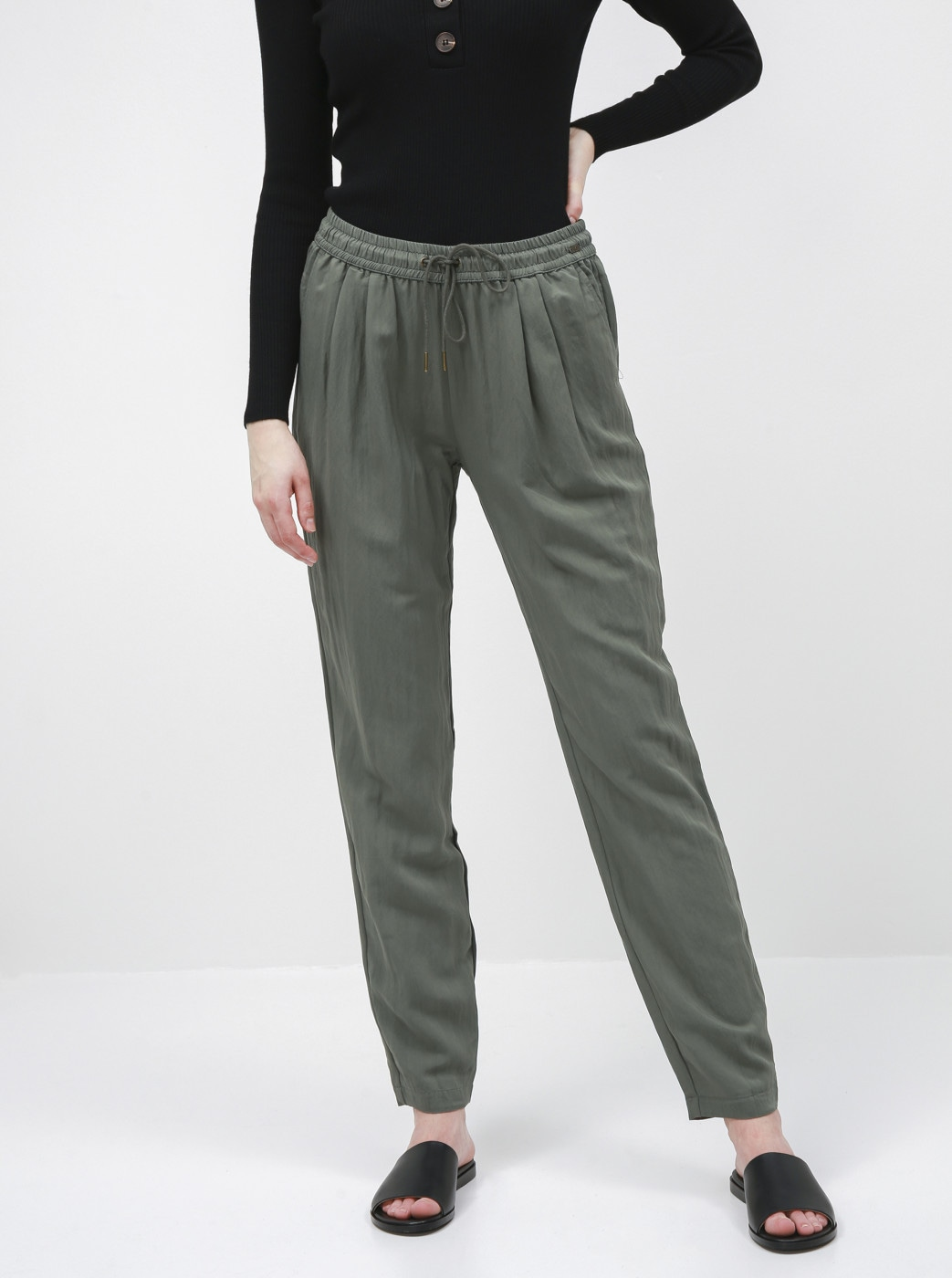 Khaki Women's Regular Fit Pants ZOOT Baseline Edita