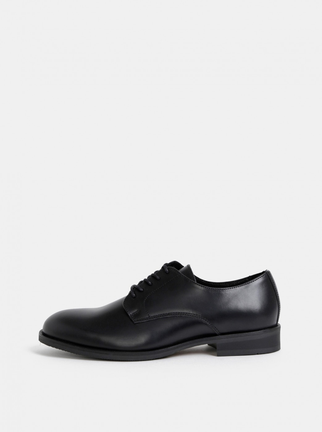 Black Leather Shoes Selected By Homme Louis