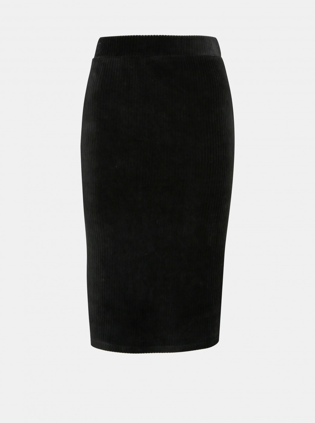 Black Cordless Pencil Skirt ONLY Cosy