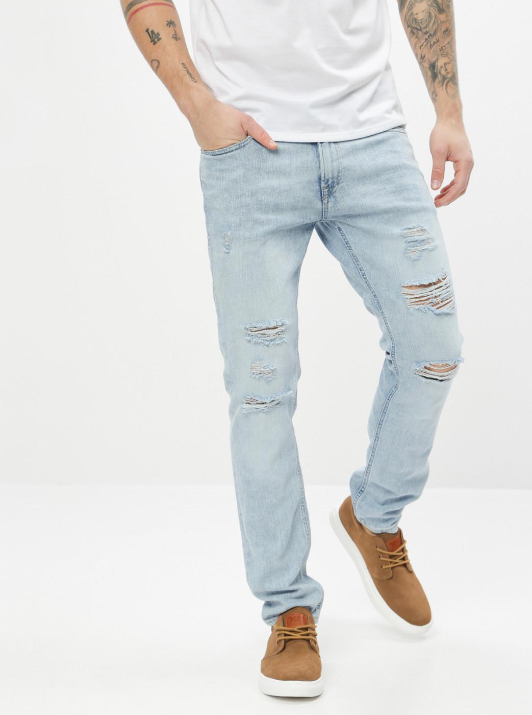 Light Blue Skinny Fit Jeans Jack & Jones Liam